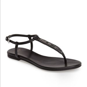 Cole Haan Effie Jewel Black Sandals
